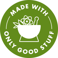 made with only the good stuff